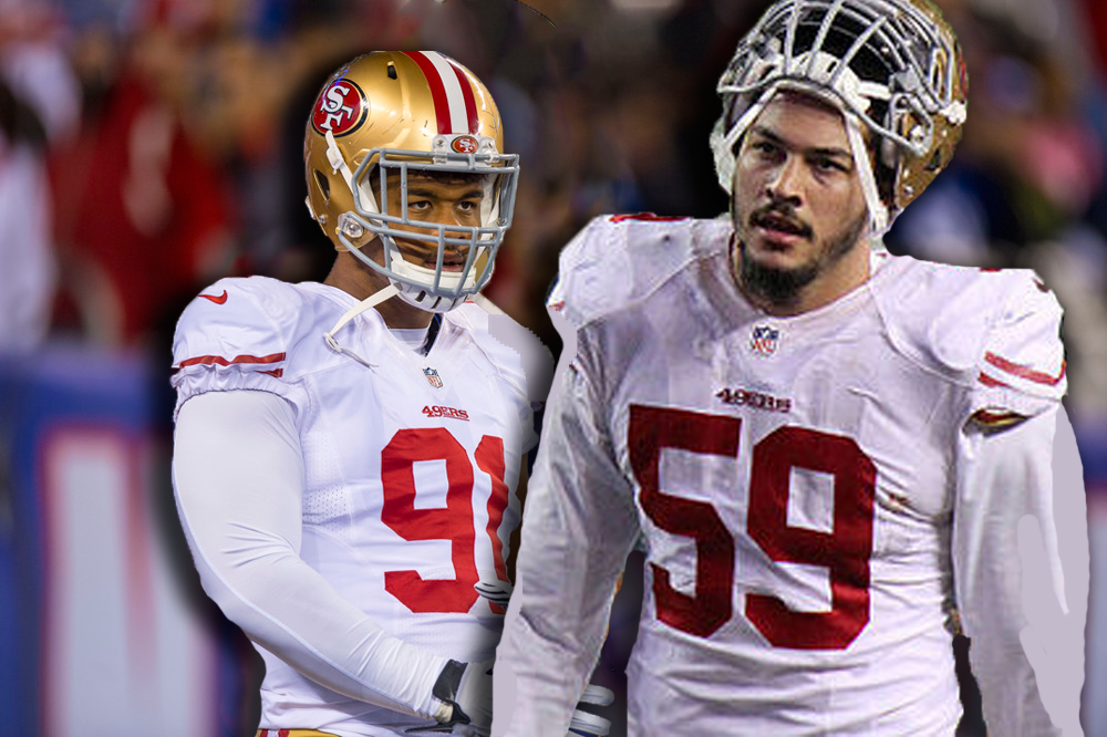 ced987410 49ers  Looking at Aaron Lynch s Role within DC Robert Saleh s Defense